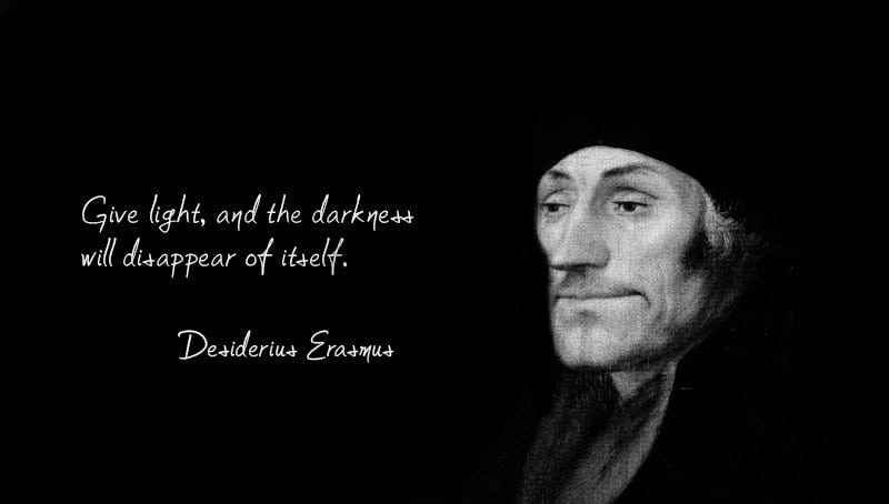 the life and books of desiderius erasmus Erasmus early life desiderius erasmus roterodamus most commonly recognized as erasmus was  his books contained one hundred and fifty  erasmus desiderius.