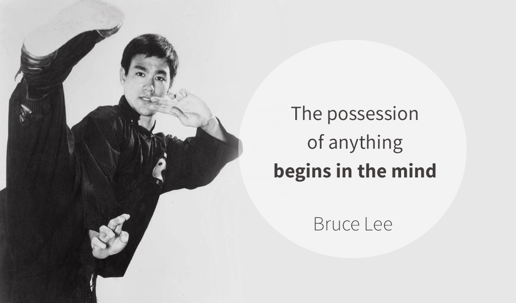 bruce lee law of attraction