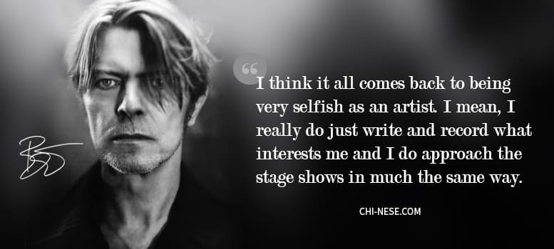 David Bowie Quotes Gallery