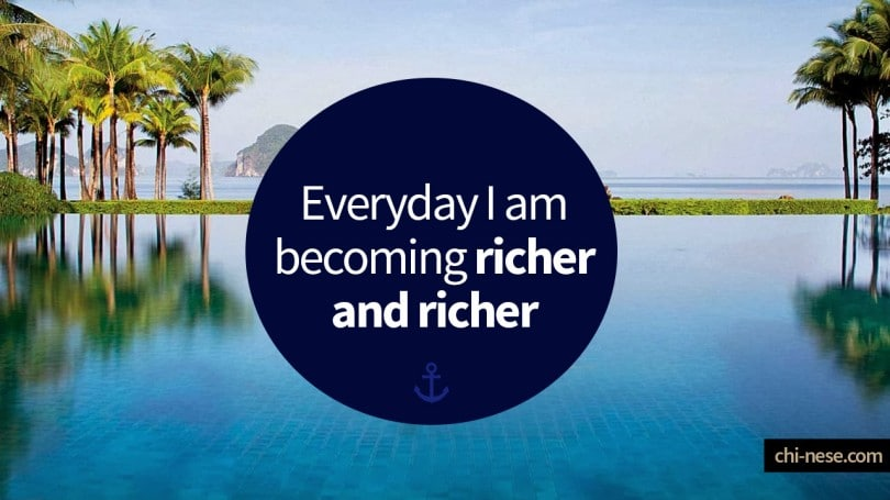 17 Wealth Affirmations (images) to Change Your Thought Pattern ...
