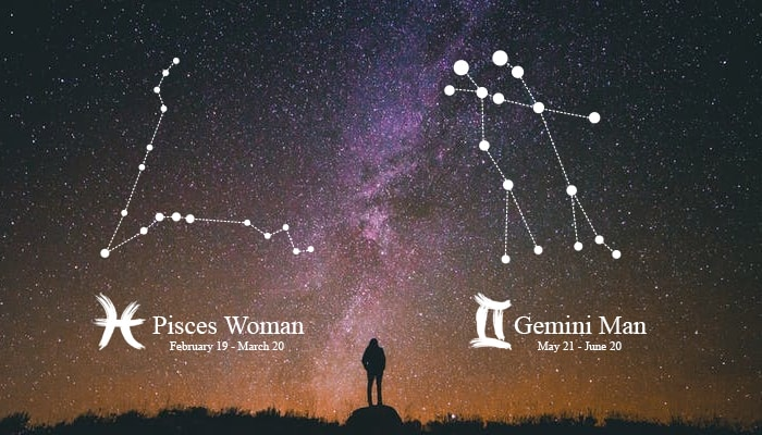 Gemini Man and Pisces Woman Astromatcha