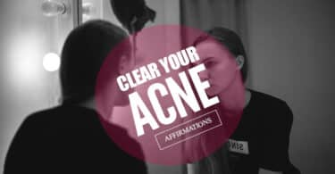 clear acne affirmations