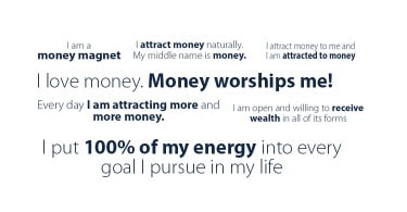 money affirmations that really work