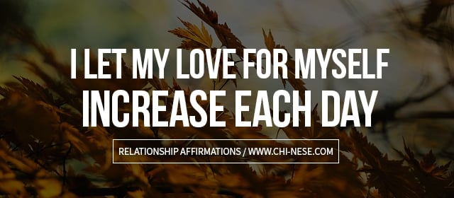 affirmations for relationship affirmations for self love