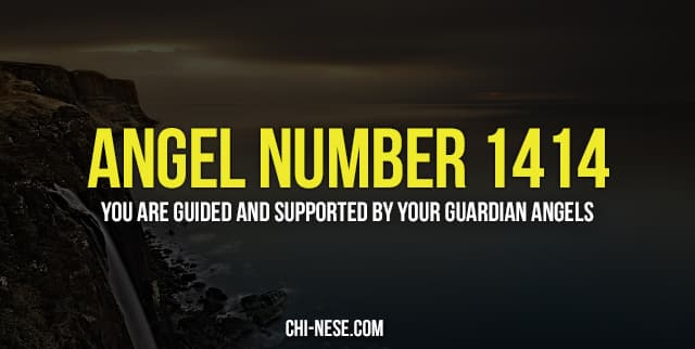 Angel number 1414 and its spiritual meaning - The Meaning of Angel Numbers