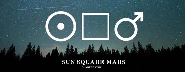 sun square mars