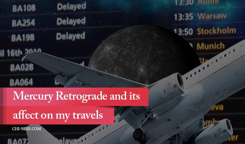 mercury retrograde travel