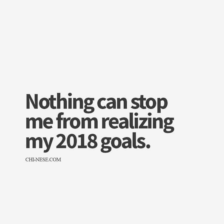New Year Affirmations 2018