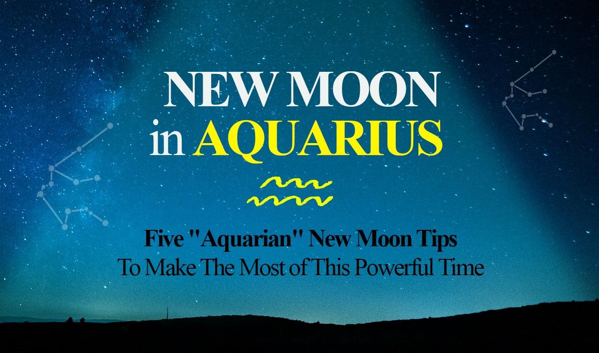 new moon in aquarius 2018