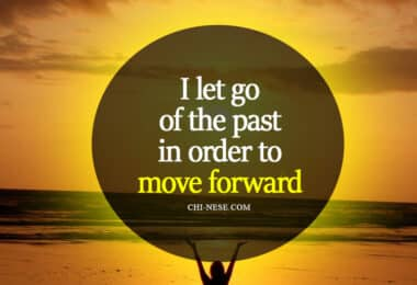 letting go of the past affirmations