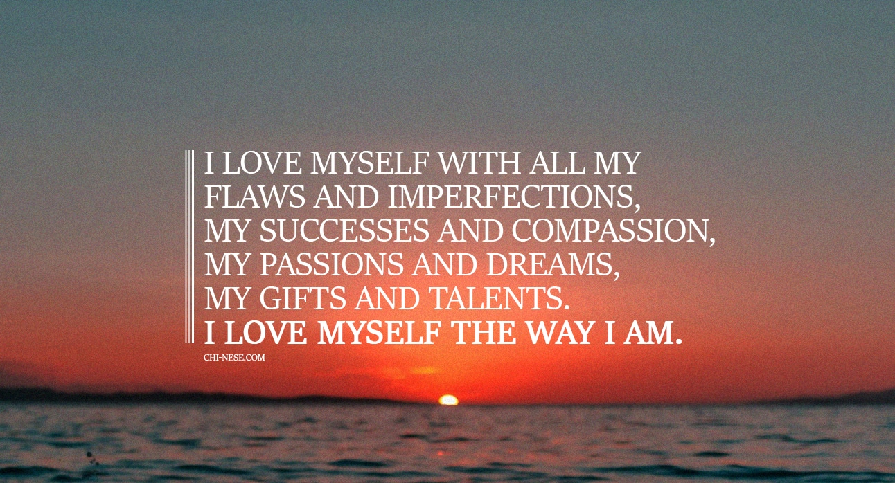Wonderful Self Love Affirmations To Say To Yourself Daily - Affirmations For Self-Acceptance