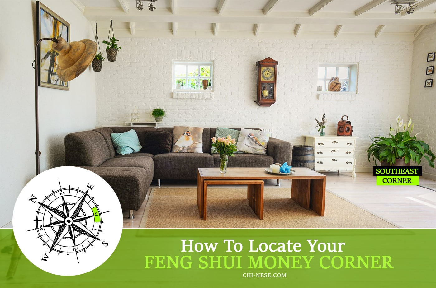 feng shui money corner