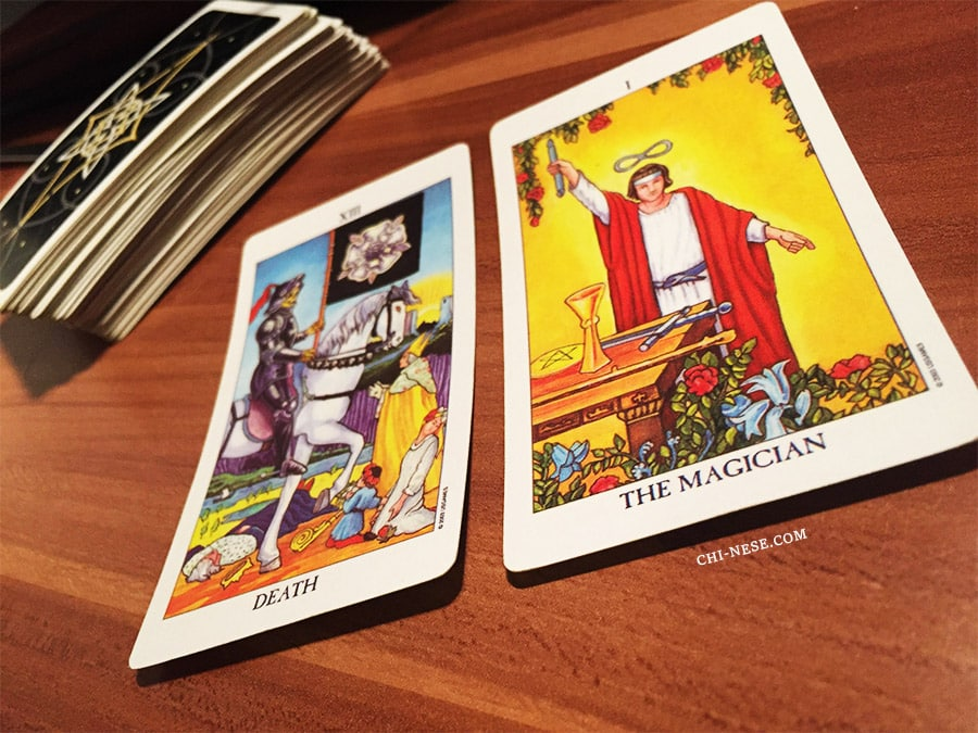 Tarot Card Combinations: Death and The Magician