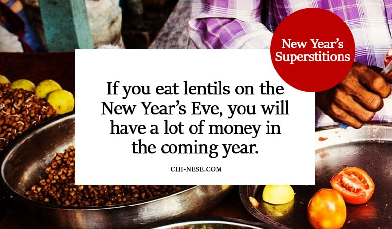 new year's superstitions