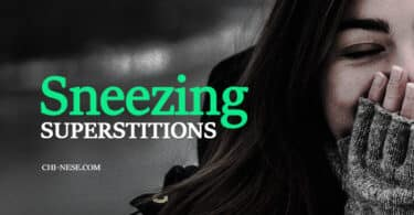 sneezing superstitions