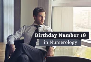 Birthday number 18