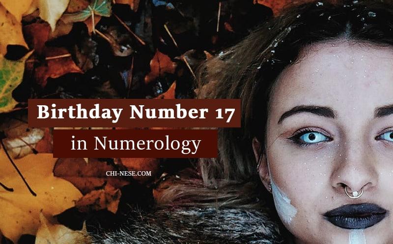 numerology number 17 birthday