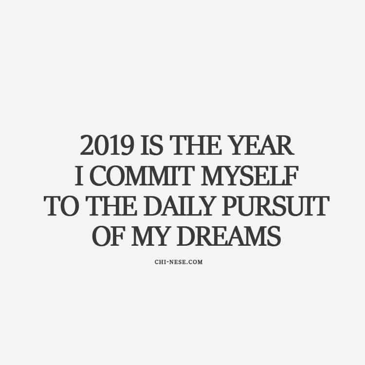 New Year Affirmations 2019
