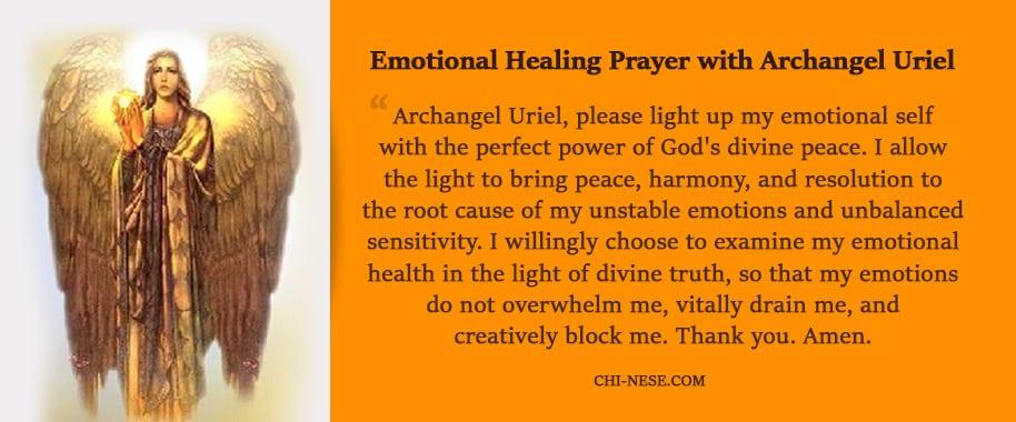 Archangel Uriel – Healing, Symbols and Prayer - Positive