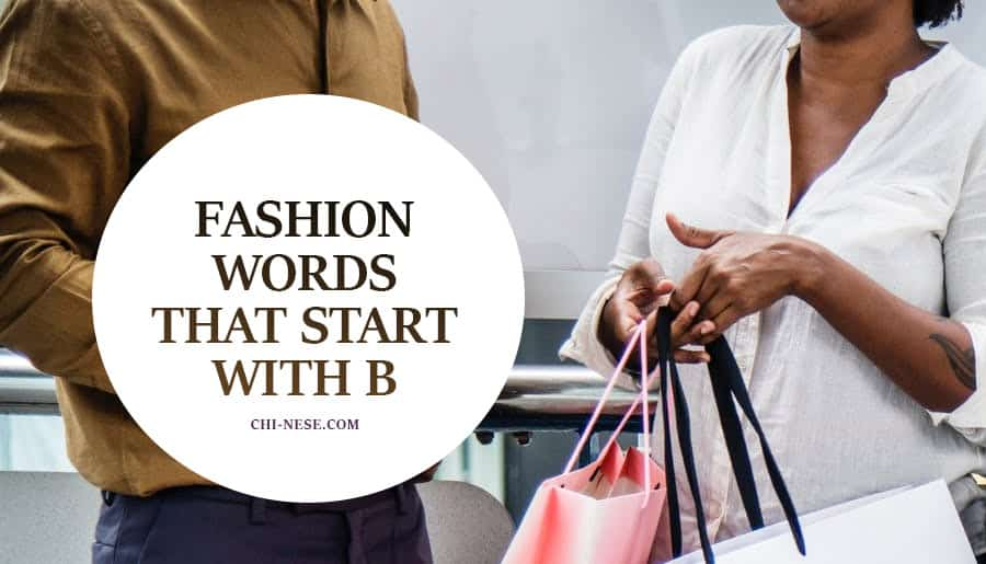 Adjectives With Letter B.Fashion Words That Start With B Words Related To Fashion