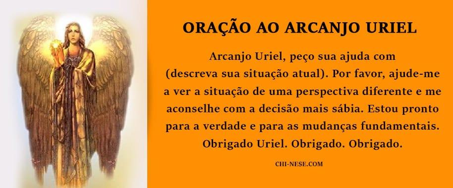 oração ao arcanjo uriel