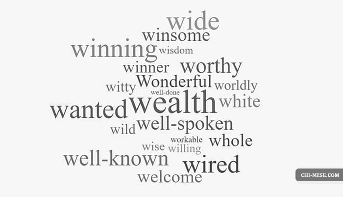 List of Positive Words That Start With W - Positive Words Starting With W