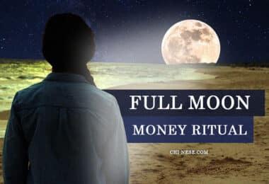full moon money ritual