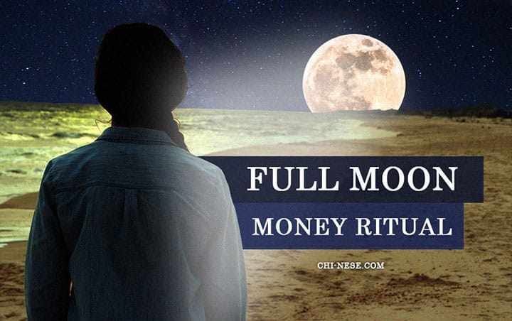 full moon money ritual