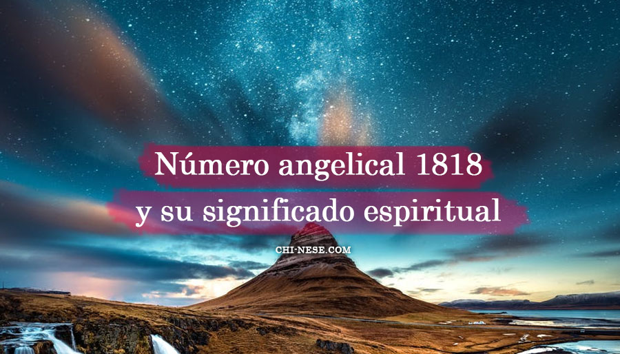 número angelical 1818