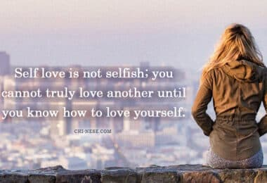 self love is not selfish