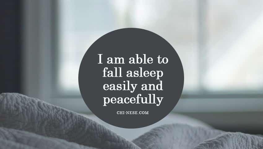 bedtime affirmations