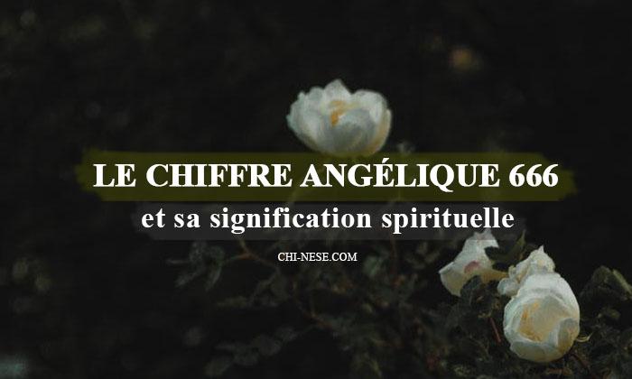 chiffe angélique 666