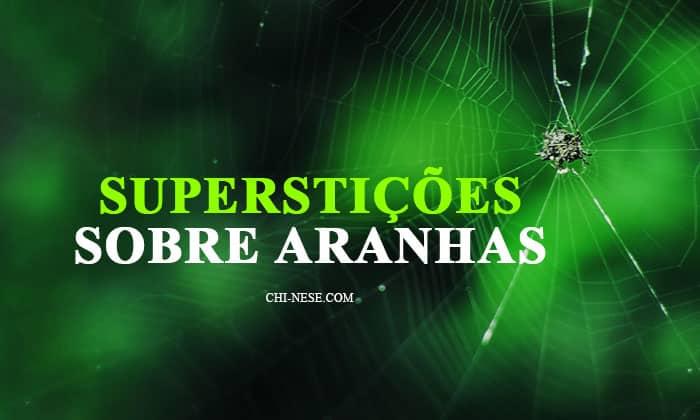 Superstições sobre aranhas