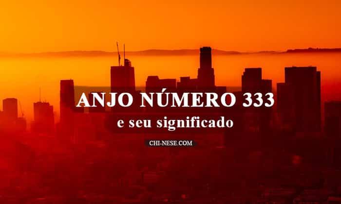 anjo número 333