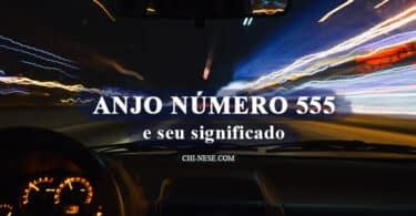 anjo número 555