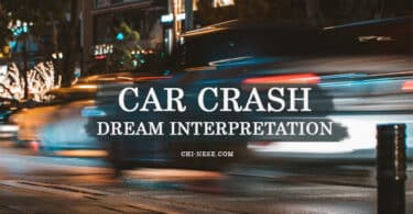car crash dream interpretation