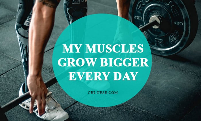 muscle growth affirmations