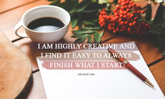 affirmations for writers