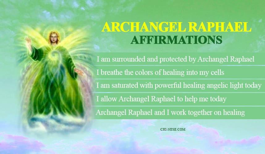 archangel raphael affirmations