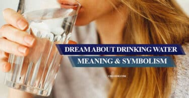 dream about drinking water