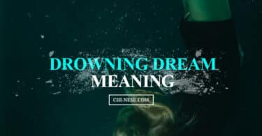 drowning dream meaning