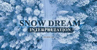 snow dream meaning interpretation
