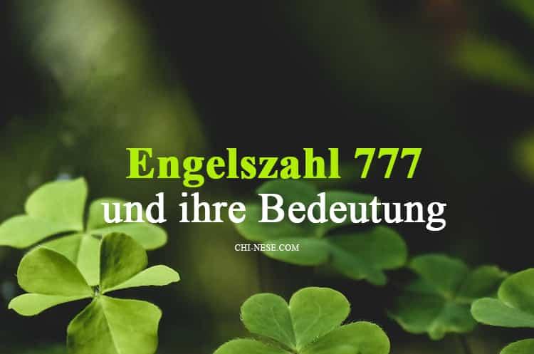 Was Bedeutet Die Zahl 777