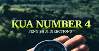 kua number 4 feng shui directions