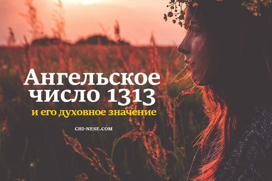 число 1313