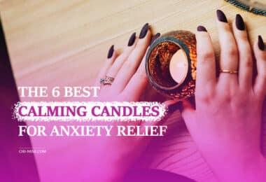 calming candles for anxiety relief