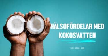 hälsofördelar med kokosvatten