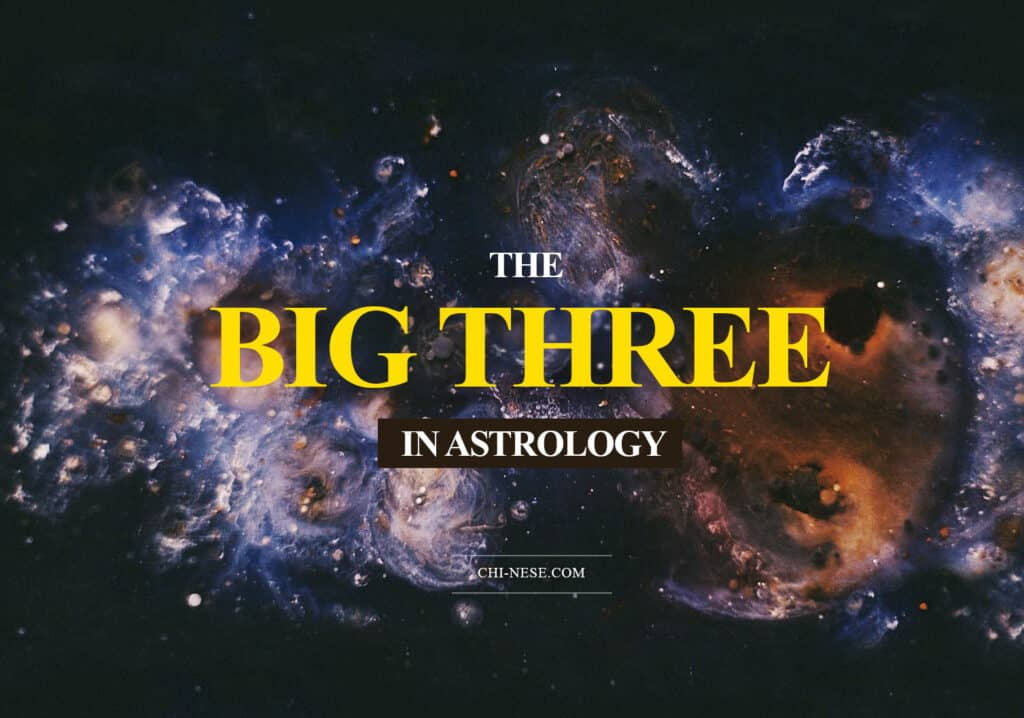 the big three in astrology