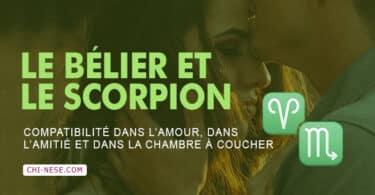 Bélier et Scorpion compatibilité