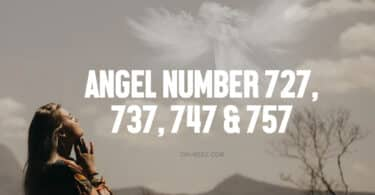 angel number 727 737 747 757